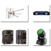 Εικόνα - Ήχος - Επαγγελματικά PA - Φωτιστικά Εφέ