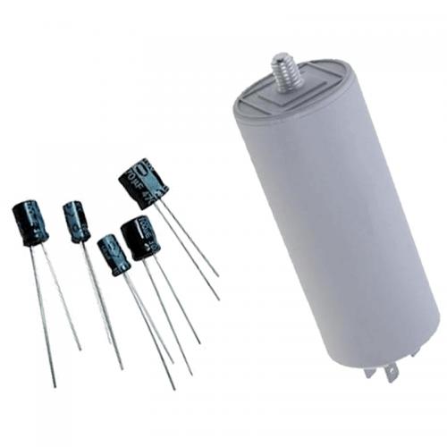 Πυκνωτές Ηλεκτρολυτικοί - Μονίμου Λειτουργίας