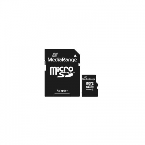 MediaRange Κάρτα μνήμης 16GB Micro SDHC Class 10 MR958