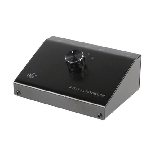 ASWITCH-4 Επιλογέας 4 συσκευών ήχου σε μία έξοδο ενισχυτή