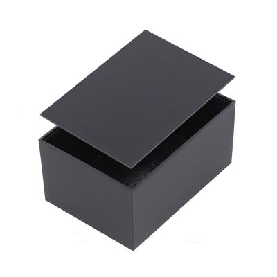 G705035B+G705020L Κουτί κατασκευής πλαστικό μαύρο χρώμα