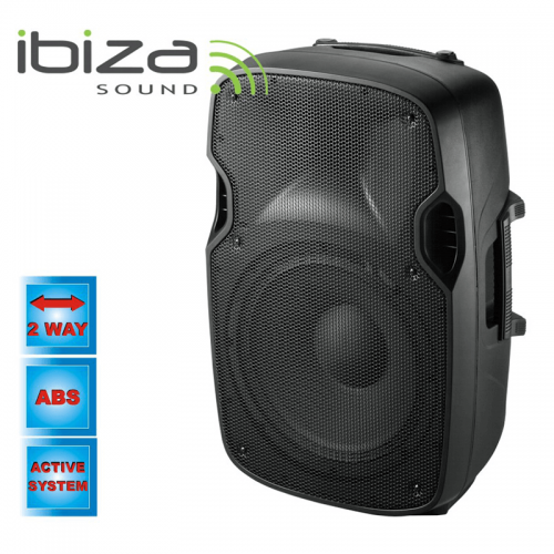 IBIZA SOUND Αυτοενισχυόμενο ηχείο XTK8A 200W