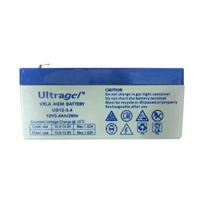 ULTRAGEL Μπαταρία Μολύβδου MK12-3.4
